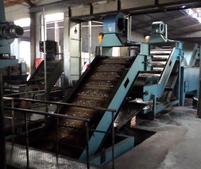 钢排钉热处理生产线